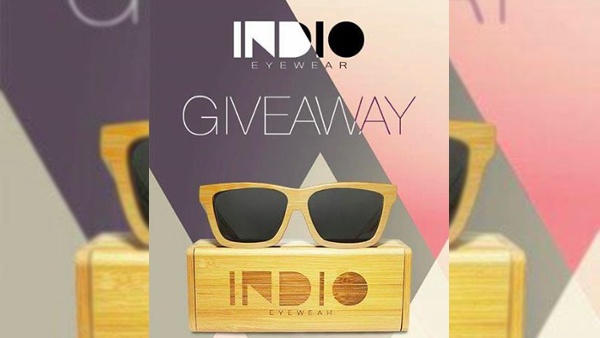 Contest: Get a chance to Win an INDIO Wooden Eyewear