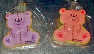 fancy cookies aqiqah bear