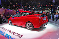 2016 New Toyota Prius style show back side view