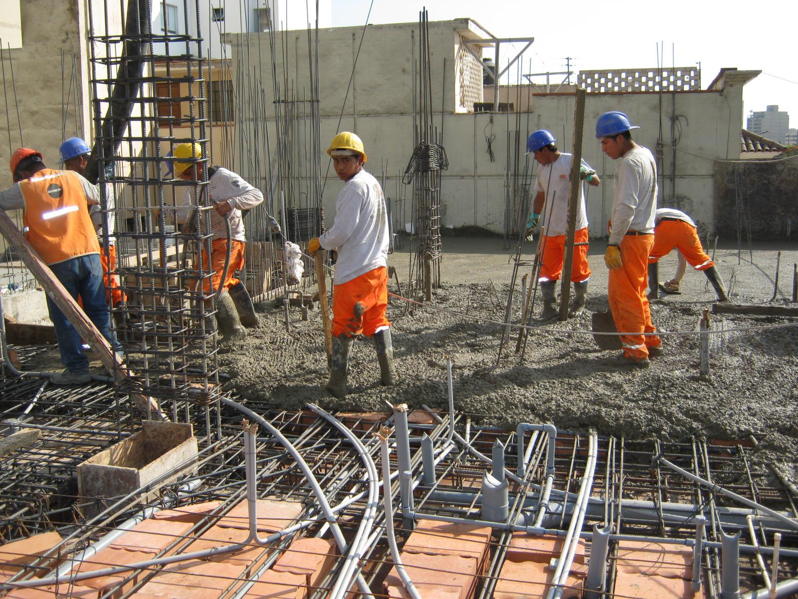 Ingeniero civil n reg c i p 73530 construcci n de for Videos de construccion de edificios