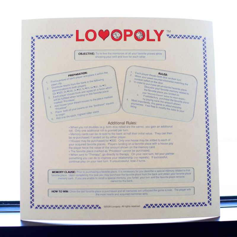 lovopoly game photo