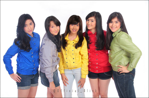Foto Blink, Girl Band Indonesia