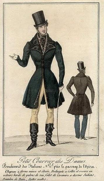 Petit Courrier des Dames 1829