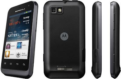 Motorola Defy Mini - Harga Spesifikasi Ponsel Android Gingerbread Dual Kamera - Berita Handphone