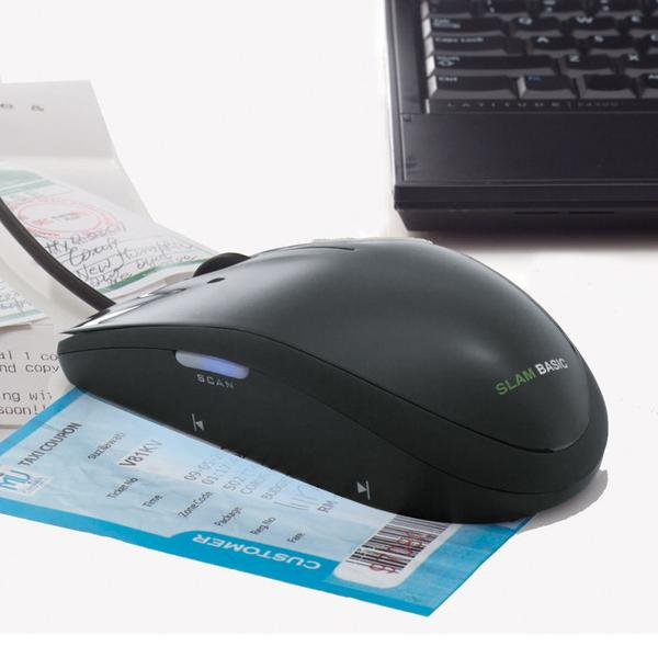 Computer Mouse Doubles As Portable Scanner