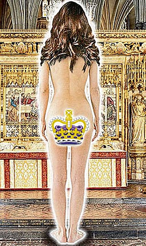 Kate Middleton Mimpi Buruk Bugil Telanjang Bulat di Depan Audiens
