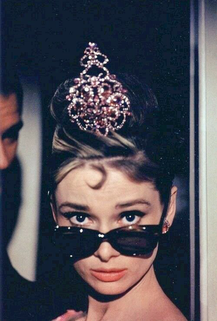 Vintage Style Inspiration: Five Party Makeup Looks Audrey Hepburn