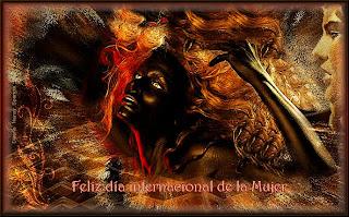 feliz dia internacional de la mujer