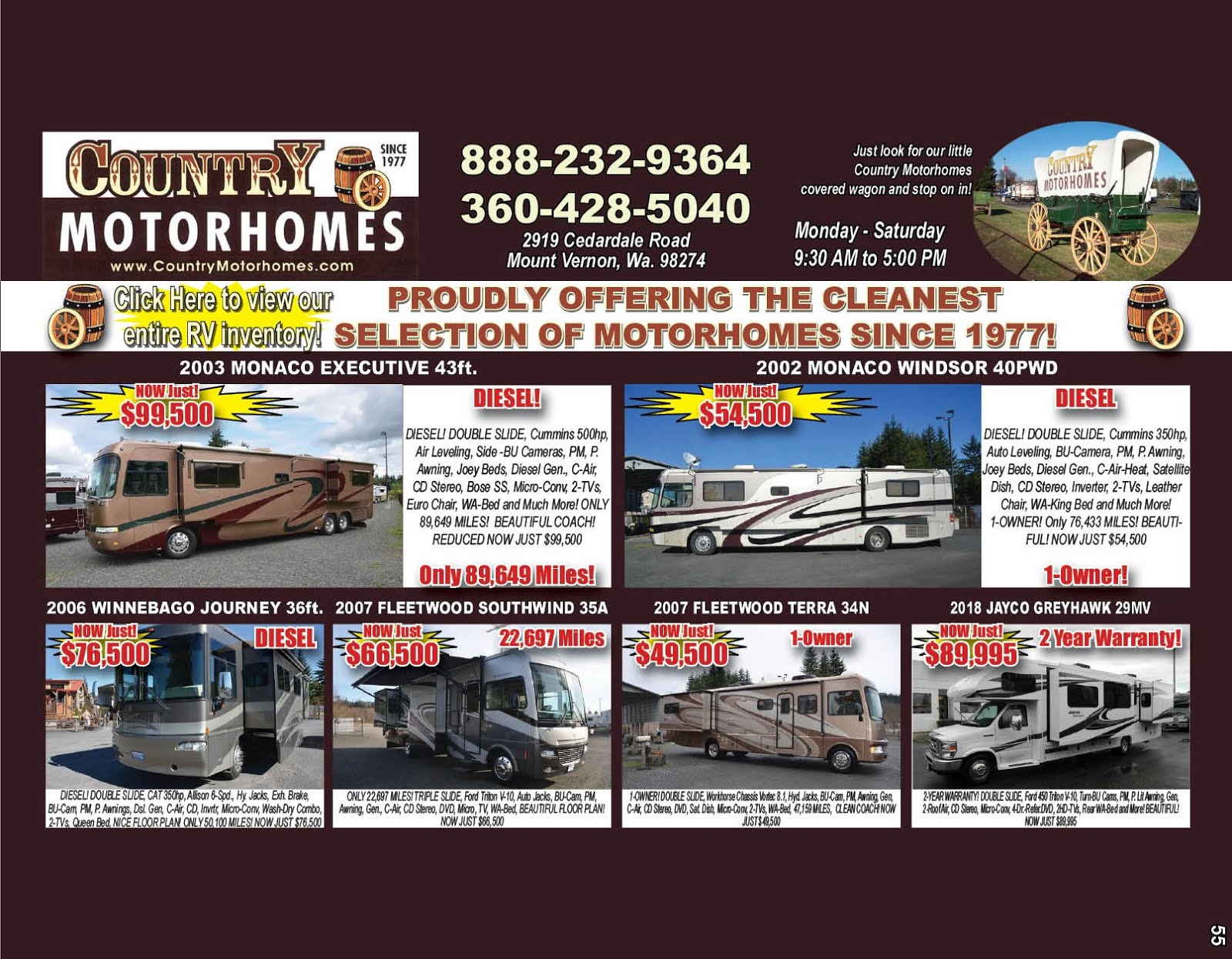 Country Motorhomes