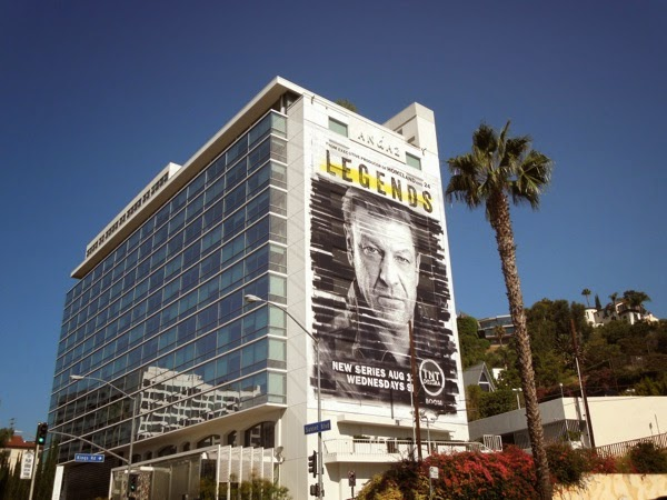 Giant Legends season 1 billboard Sunset Strip