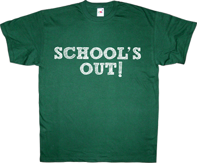 school's out alice cooper autobombing fun bau t-shirt ephemeral-t-shirts