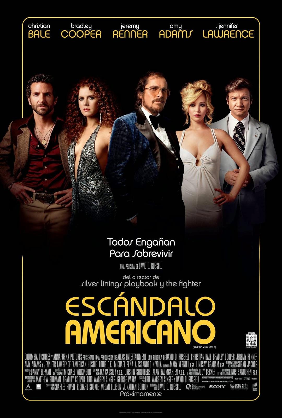 Poster de Escándalo Americano