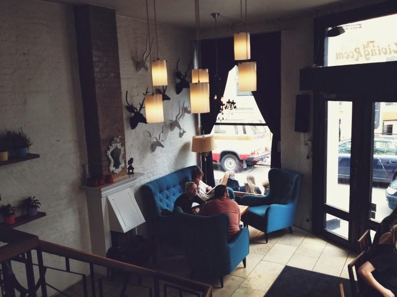 Дания, Копенгаген, кафе