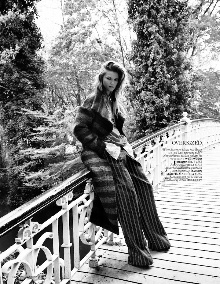 Kasia Struss By Philippe Vogelenzang For Vogue Netherlands August 2013