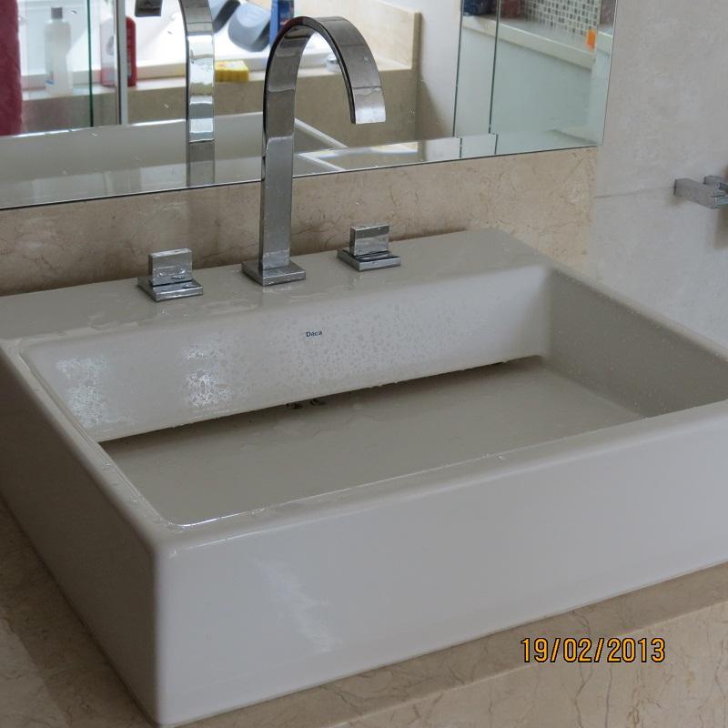Construindo um Castelinho Cuba L87 Deca -> Cuba Para Banheiro De Semi Encaixe Branca Icasa