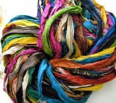 Silk Sari Strips