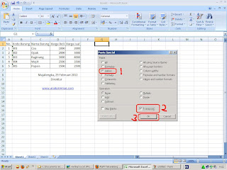 convert data vertical excel