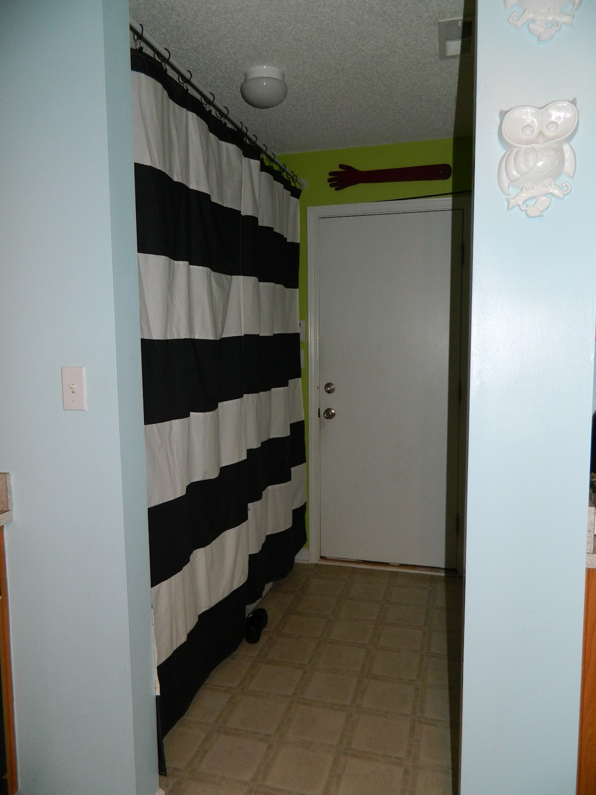Craft Addiction Curtains To Hide Laundry Room