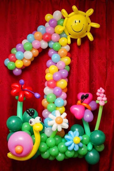 Decoración con Globos para Cumpleaños Infantiles : Fiestas ...