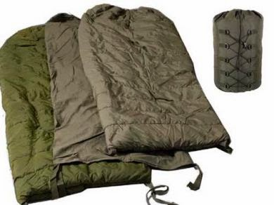 CANADIAN FORCES ARCTIC SLEEPING BAG SET Extreme Cold Weather
