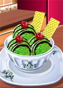 Мороженое с чаем - Онлайн игра для девочек