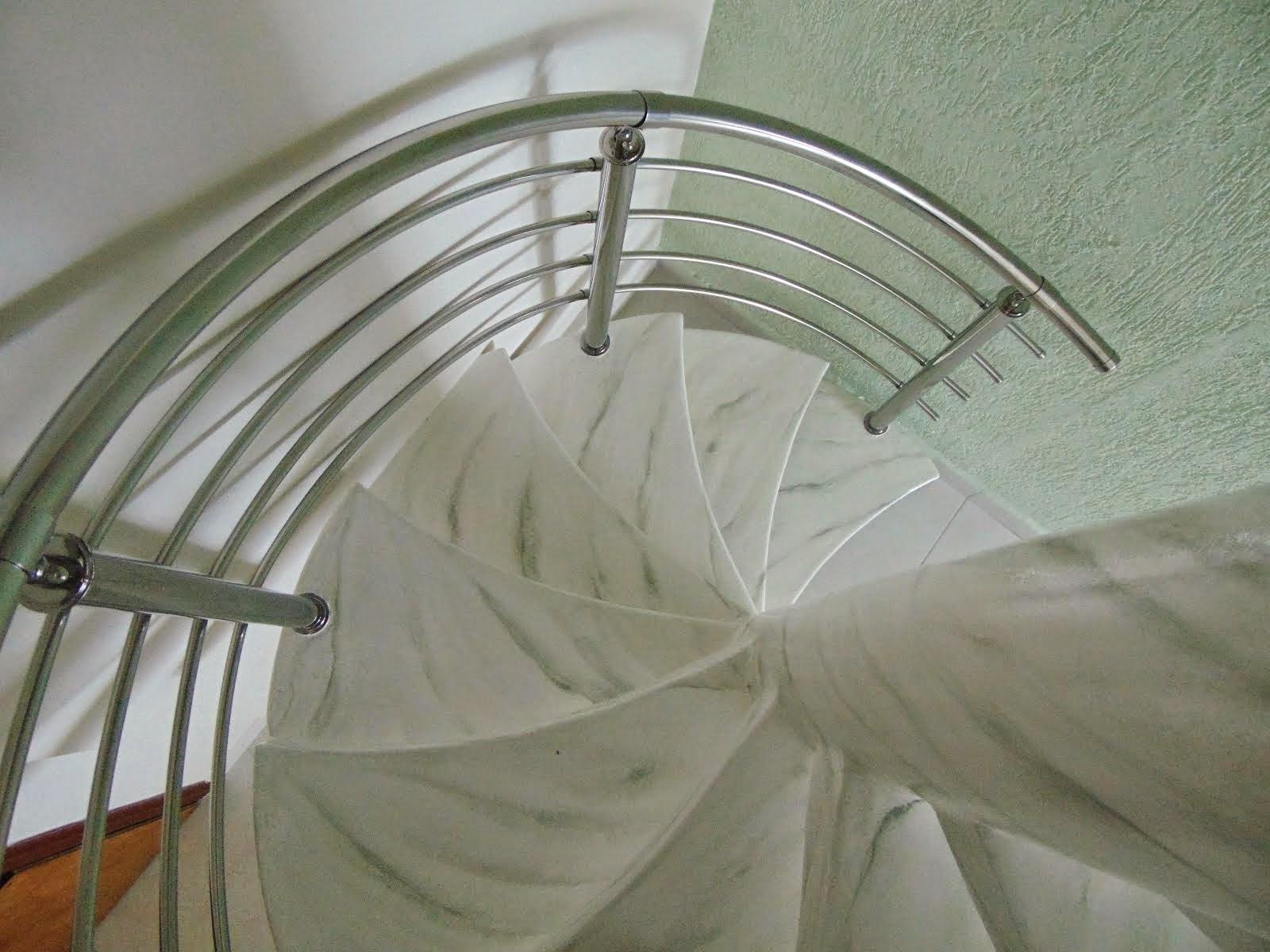 Escada Marmorizada mármore pigues
