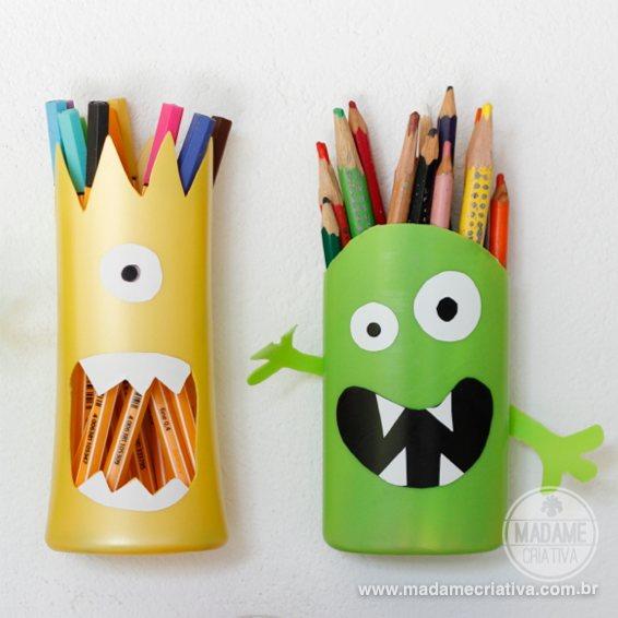 Поделка карандашница своими руками