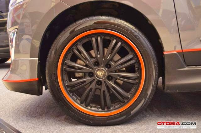 Modifikasi Velg Mobil Suzuki Ertiga