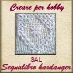 sal: segnalibro hardanger