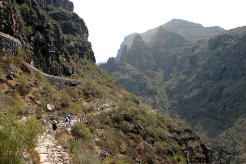 Una turista alemana muere en el desprendimiento de Barranco del Infierno en Adeje, Tenerife