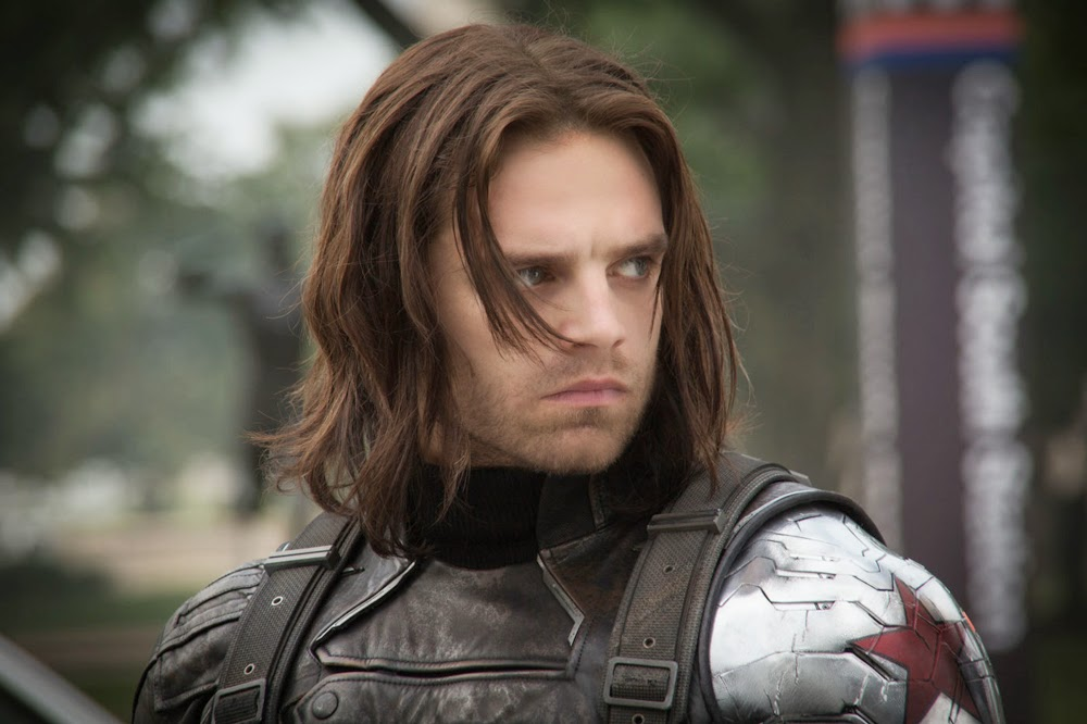 Sebastian Stan in Captain America: The Winter Soldier