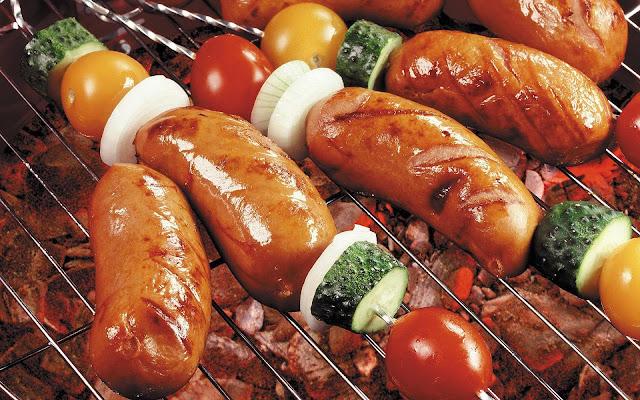 Worstjes voor op de barbecue
