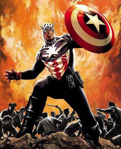 James Buchanan Bucky Barnes Character Review - As Captain America