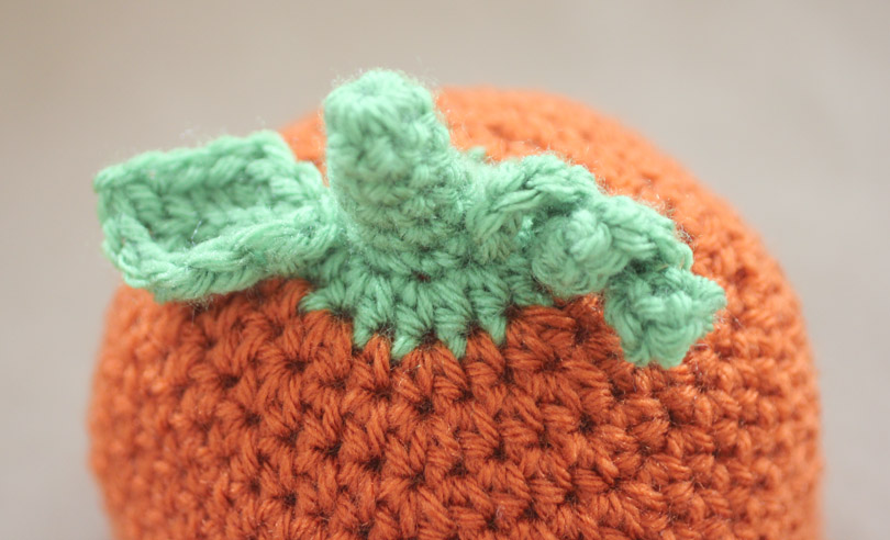 Crochet Pumpkin Hat Pattern And Giveaway Repeat Crafter Me