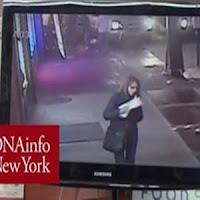 Vídeo mostra mulher comendo pizza após acidente fatal