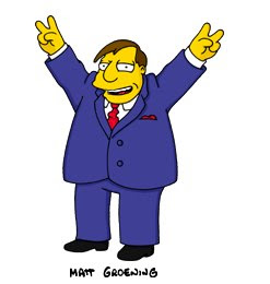 Anyone else think Joe Quimby is the stereotypical politician?