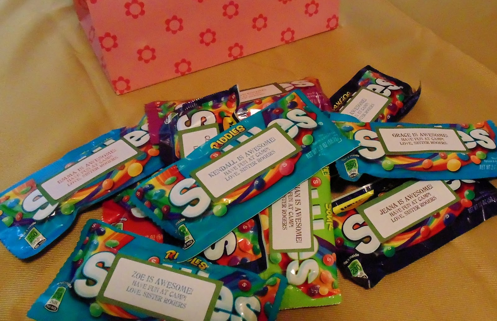candy sayings for gifts skittles | just b.CAUSE