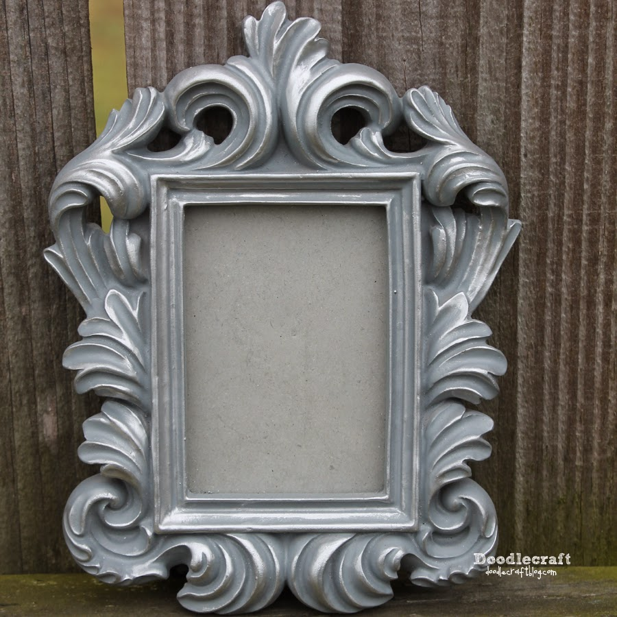 Doodlecraft gold or silver leaf ornate frames lastwhite jeuxipadfo Image collections