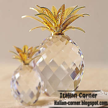 crystal fruits accessories, italian home accessories
