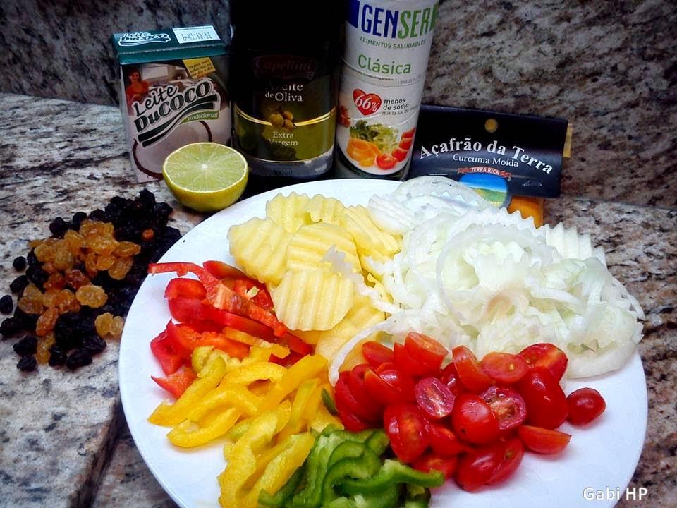 Receitas Devaneios de Biela Moqueca de legumes