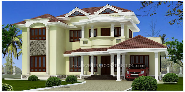 Latest Model Kerala Design Home Floor Plan And Elevation