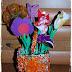 Koszyczki pełne kwiatów dla babci...