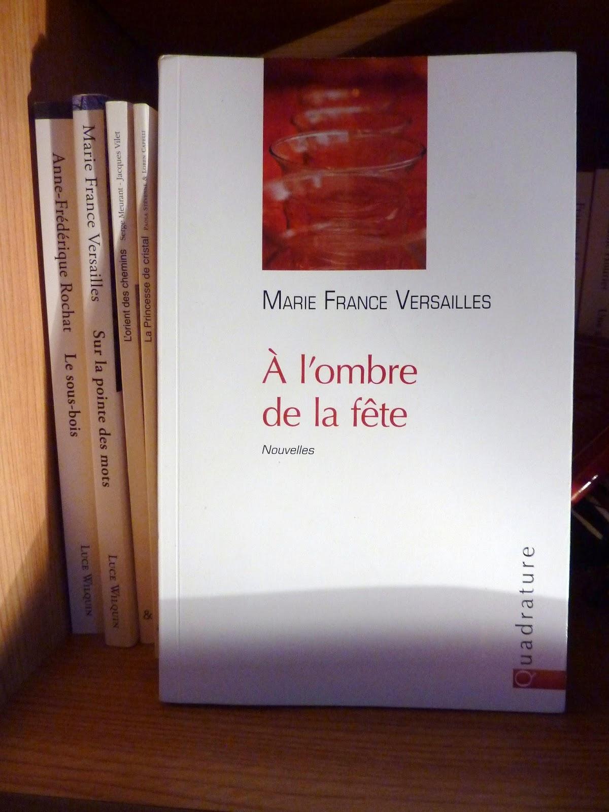 A l'ombre de la fête - Marie France Versaille