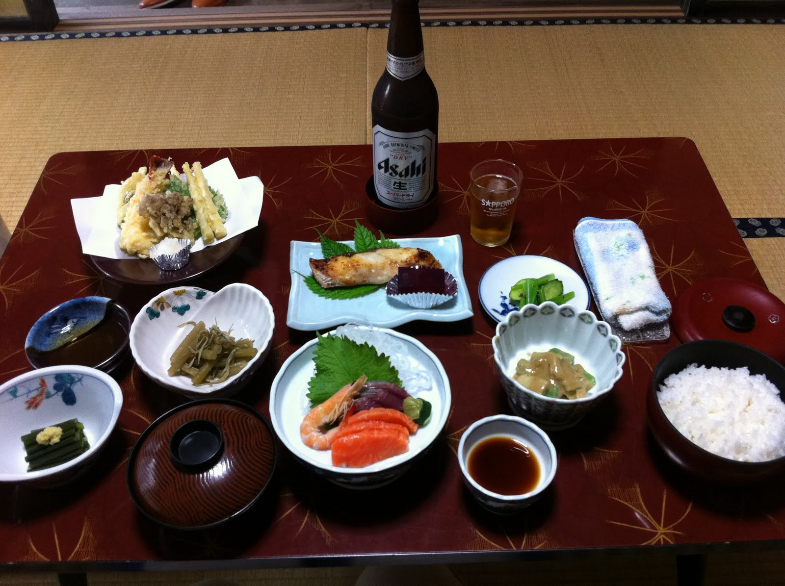 Enjoy toji in japanese onsen for Ancient japanese cuisine