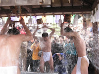 鎌倉・長勝寺の水行
