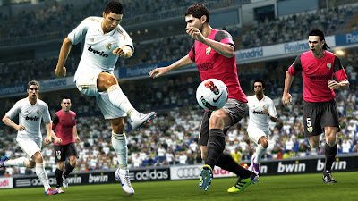 PES 2013: First ever in-game screenshot