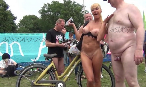 Naked Bike Ride United Kingdom 899-910 (A celebration of the bike and of the human body)