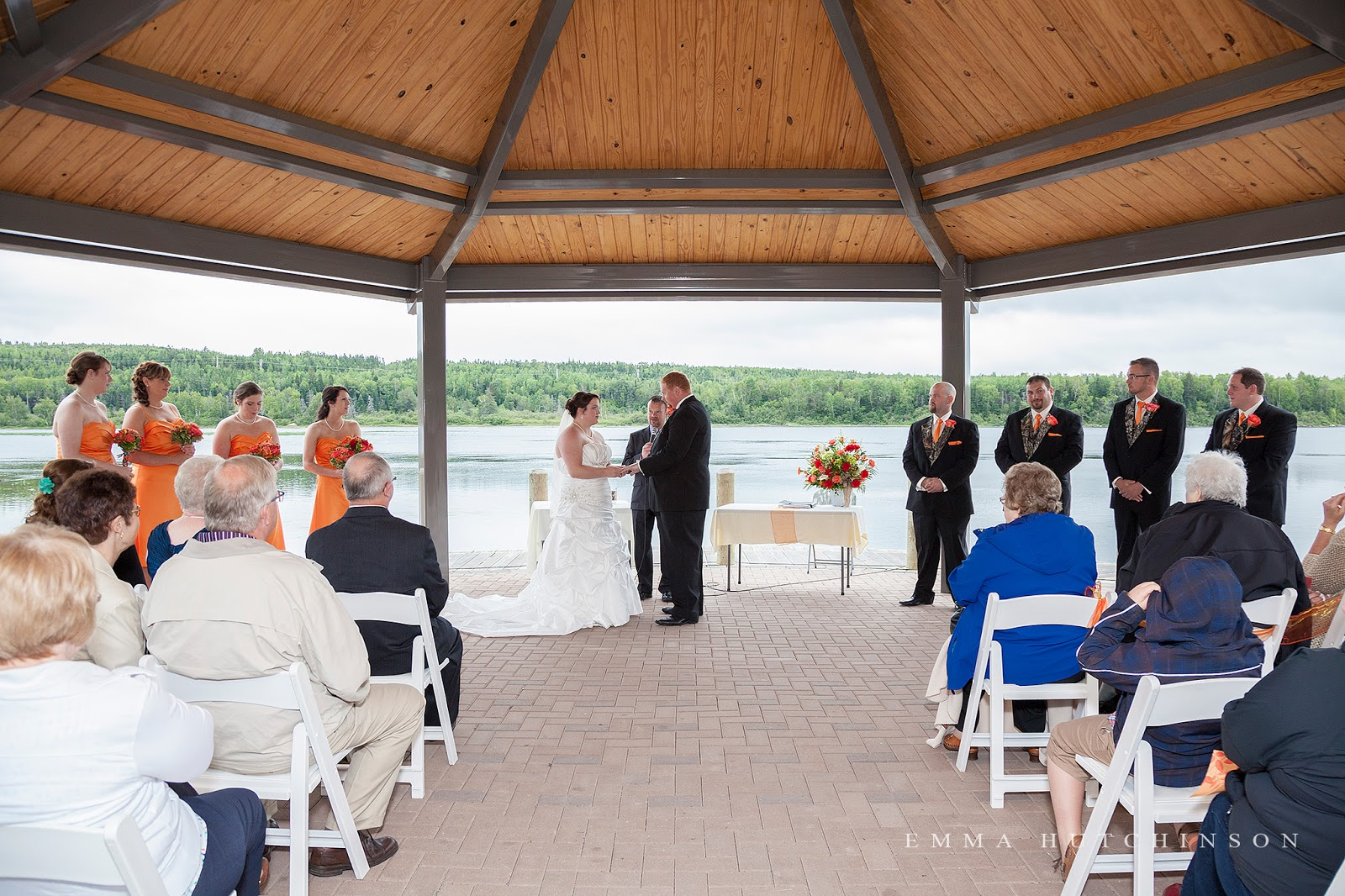 Weddings at Gorge Park in Grand Falls-Windsor photographed by Emma Hutchinson Photography