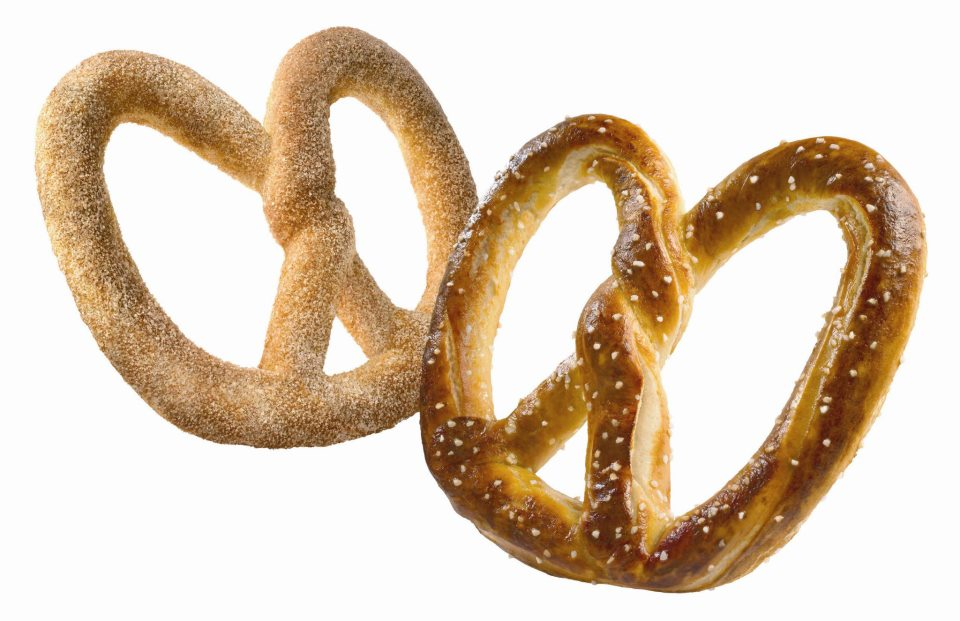 Auntie Anne's pretzels