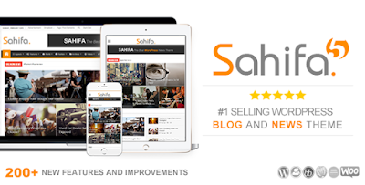 Sahifa Responsive WordPress Theme Download Free [Version 5.4.0]